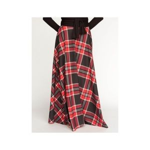 Agnes and Dora plaid ball skirt